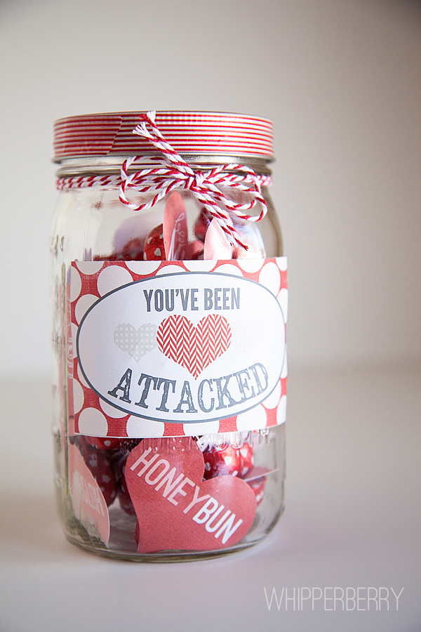Heart Attack Valentineu0027s Day Printables From WhipperBerry