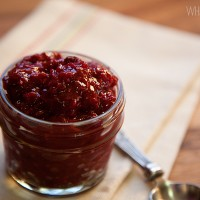 Raspberry Chili Chutney