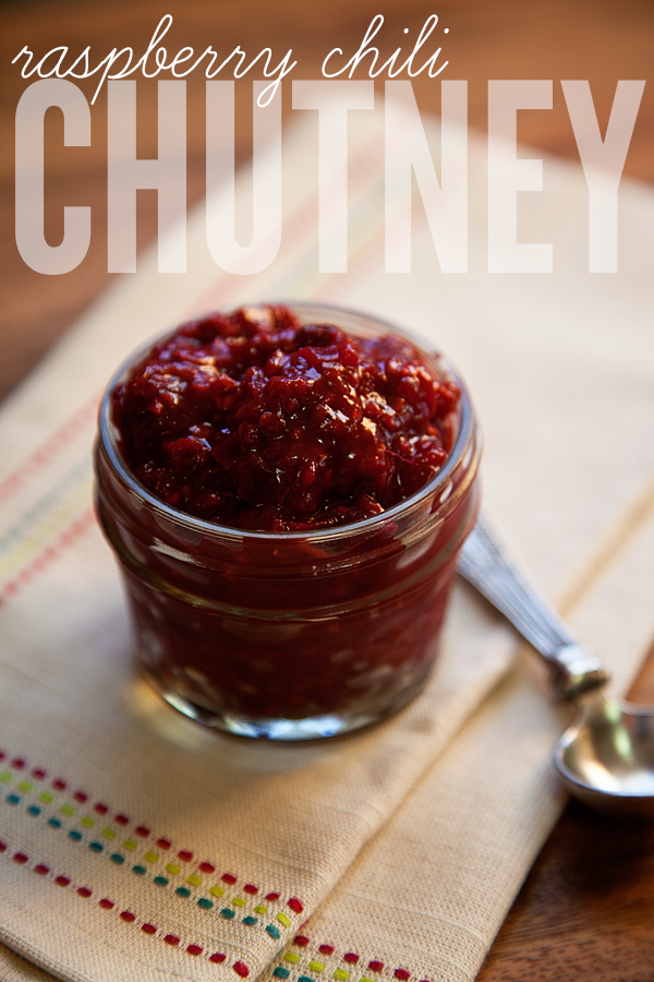 Raspberry Chili Chutney from WhipperBerry