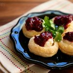 Goat Cheese Puff Pastry with Raspberry Chili Chutney