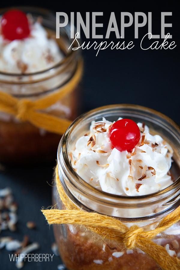 Pineapple Surprise Cake // Recipe