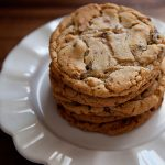 Vanilla Salted Chocolate Chip Cookies