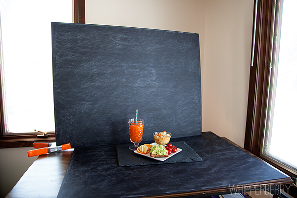 How To Use The Faux Slate Photo Background