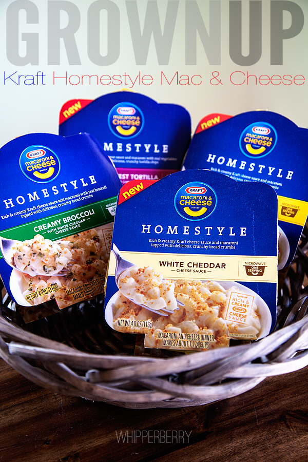Kraft Homestyle Mac & Cheese Microwave Bowls