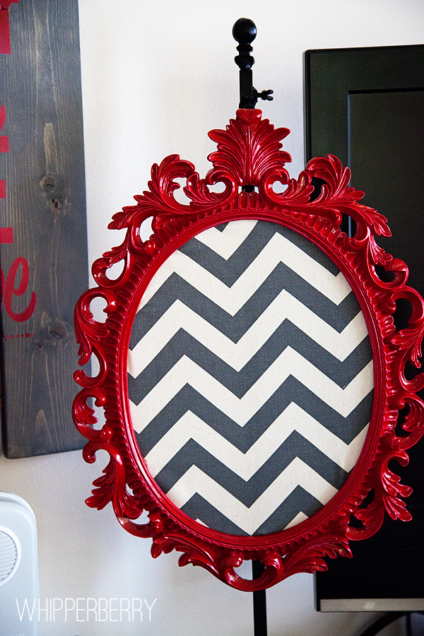 Painted frame with DecoArt