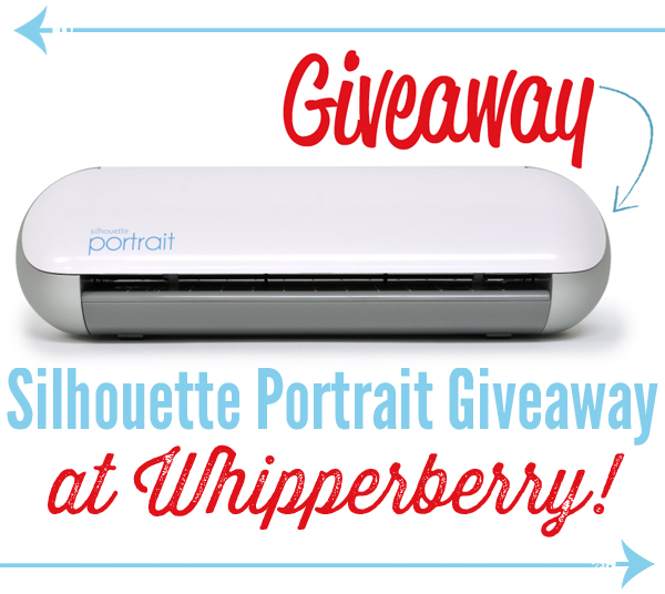 Silhouette Portrait Giveaway at Whipperberry