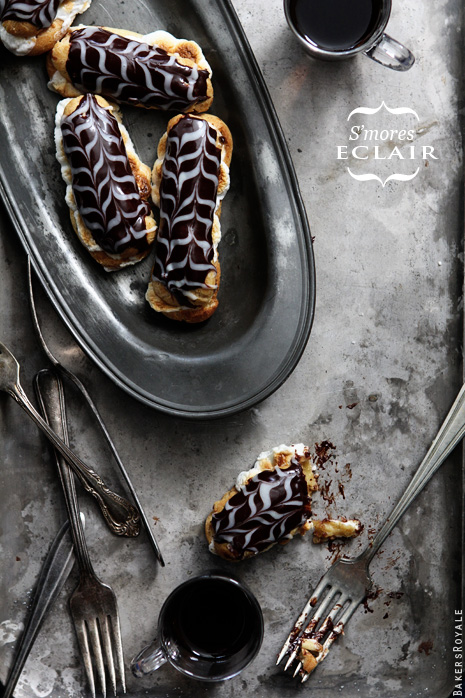 Friday Flair Link Party // S'more Eclair Edition