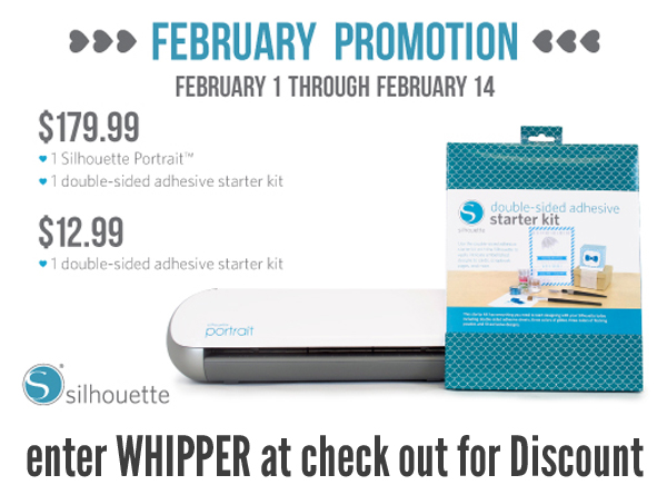 Use WHIPPER at checkout to receive the February discount