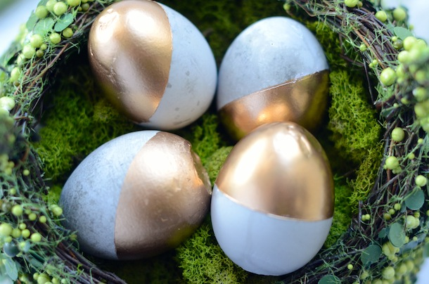 Friday Flair Link Party // Cement Easter Egg Edition
