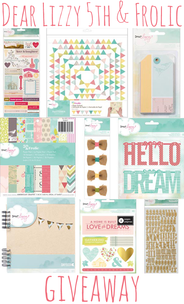Dear Lizzy 5th & Frolic Giveaway at WhipperBerry