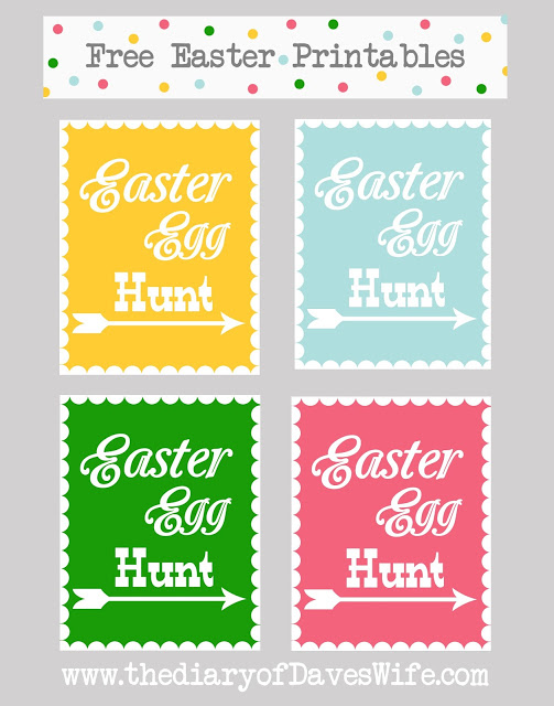 Easter Printable Collage