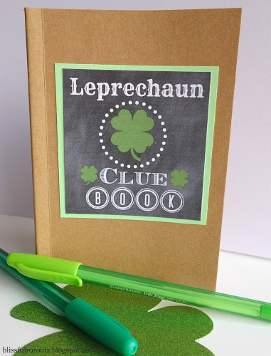 Leprechaun clue book