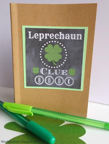 Leprechaun clue book