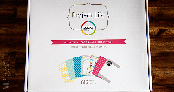 Project Life Blush Edition