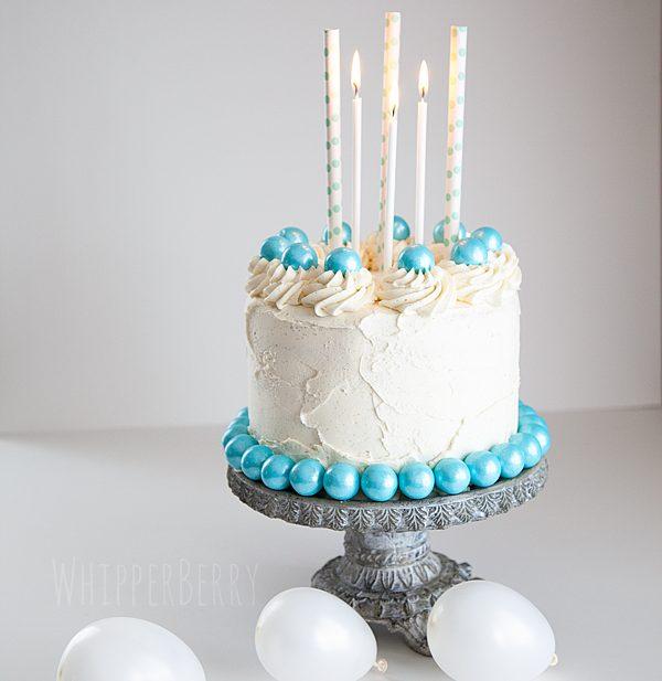 WhipperBerry Vanilla Cake