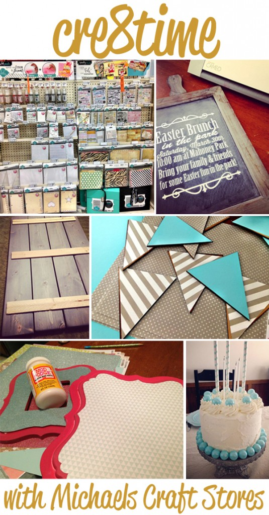 cre8time with Michaels craft store