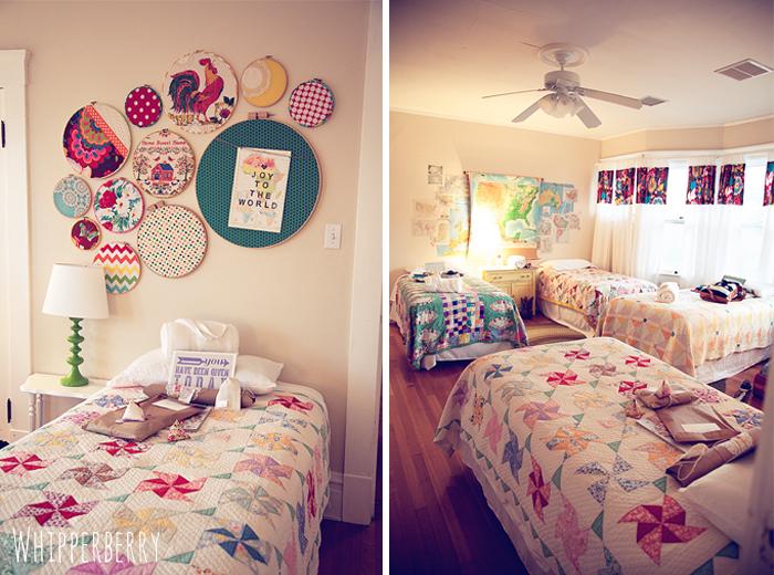 Bedroom at Whatever Craft Weekend House