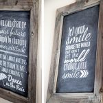 Create Vinyl Chalkboard Art