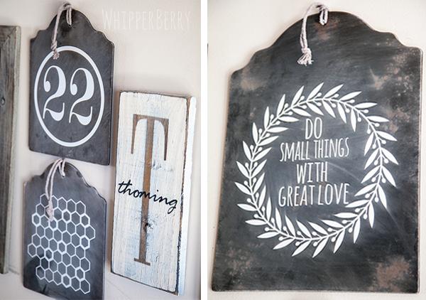 Chalkboard Inspiration board