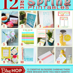 12 Fresh New Spring Printables