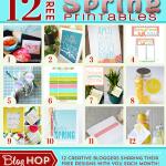 12 Fresh New Spring Printables