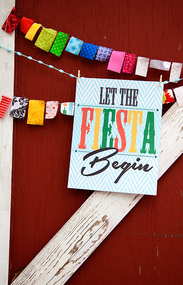 WhipperBerry's Let the Fiesta Begin Printable