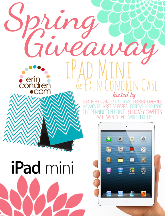 Spring iPad Mini & Erin Condren Case Giveaway