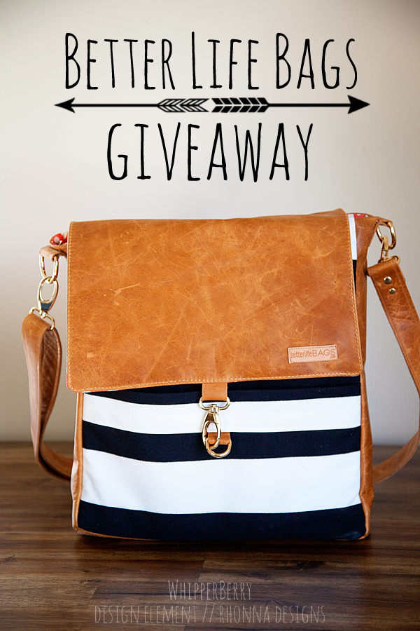 Better Life Bags Giveaway on WhipperBerry