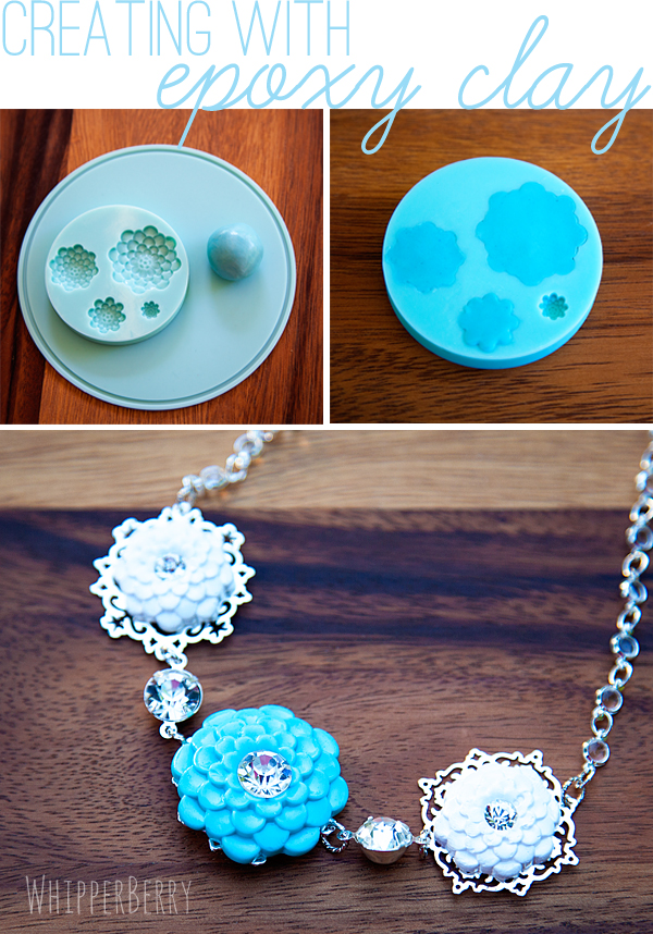 Creating with Martha Stewart Epoxy Clay #marthajewelry