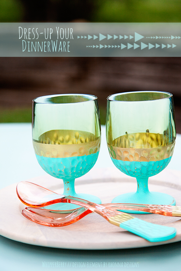 Dress up your dinnerware with DecoArt