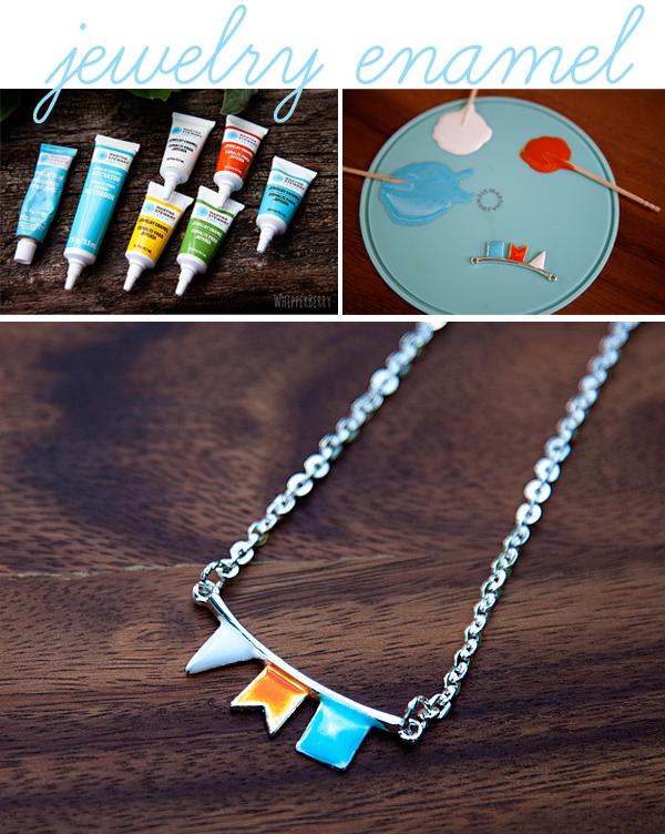 Martha Stewart Jewelry Enamel #marthajewelry
