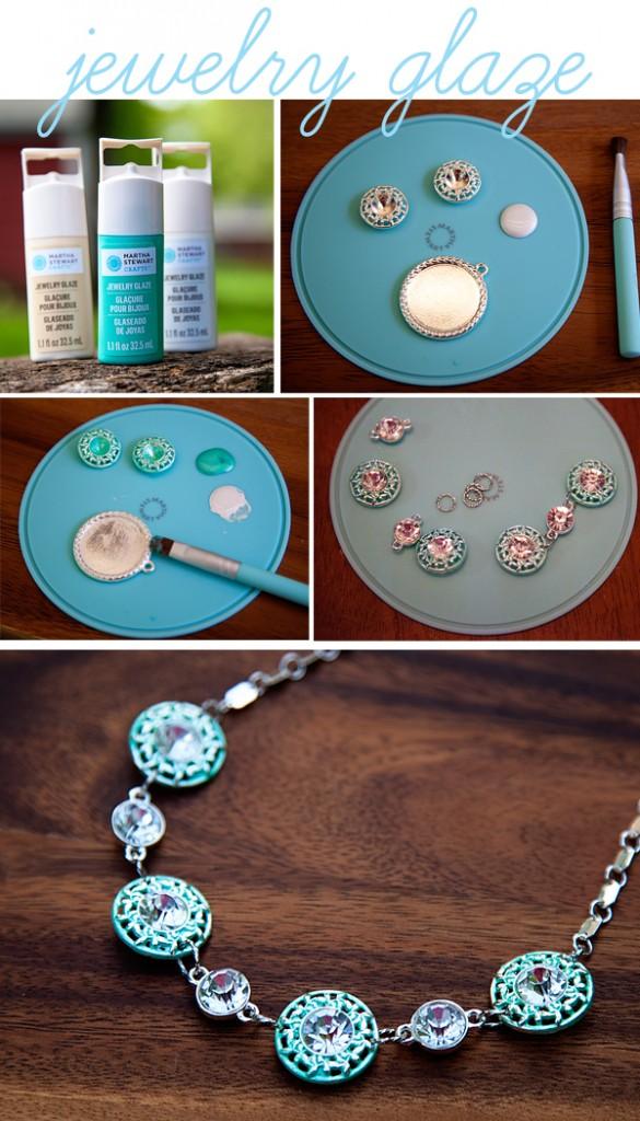 Martha Stewart Jewelry Glaze #marthajewelry