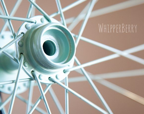 Color Block // Bicycle Wheel Sneak Peek