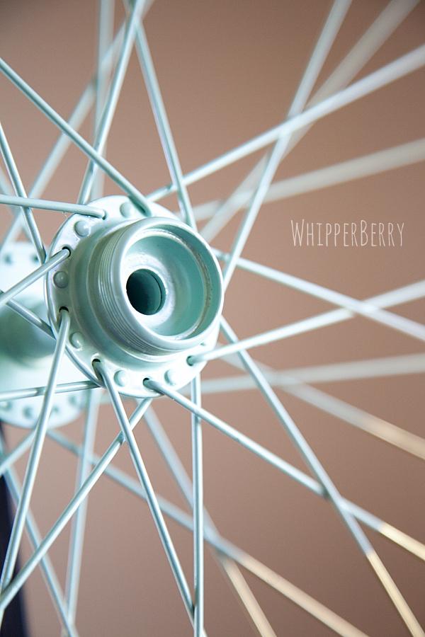 Color Block // Bicycle Wheel Sneak Peek