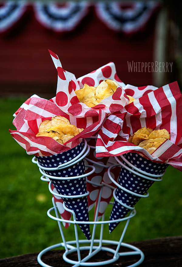 Summer Potato Chip Cones