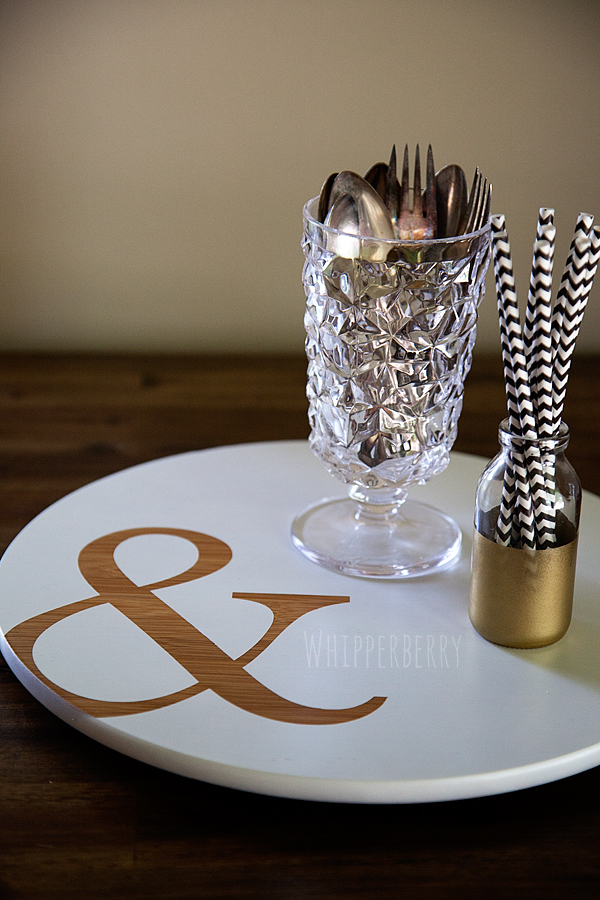 WhipperBerry Ampersand Lazy Susan