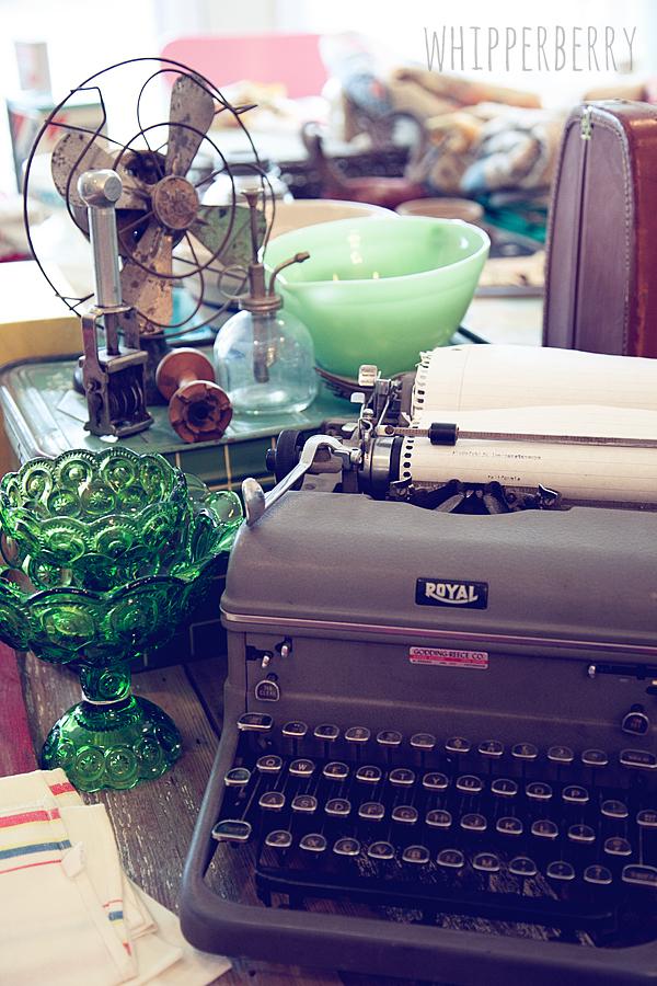 WhipperBerry typewriter