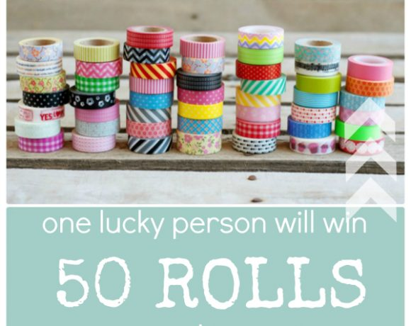 The Ultimate Washi Tape Giveaway