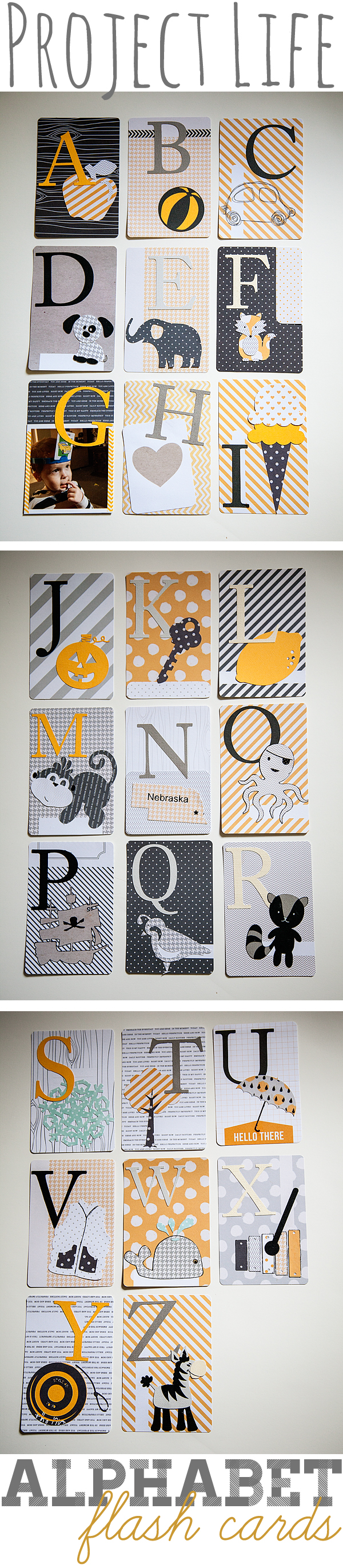Alphabet Flash Cards by WhipperBerry