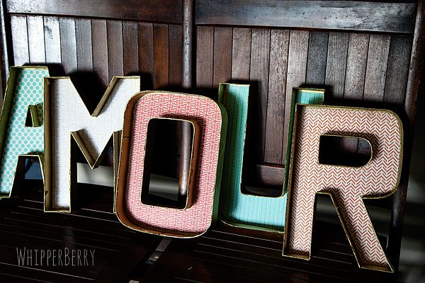 DIY Marquee Letters part 1