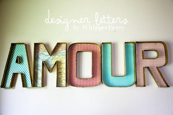 Designer Letter by WhipperBerry