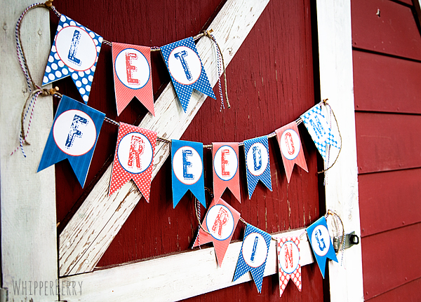 12 Free Fourth of July Printables