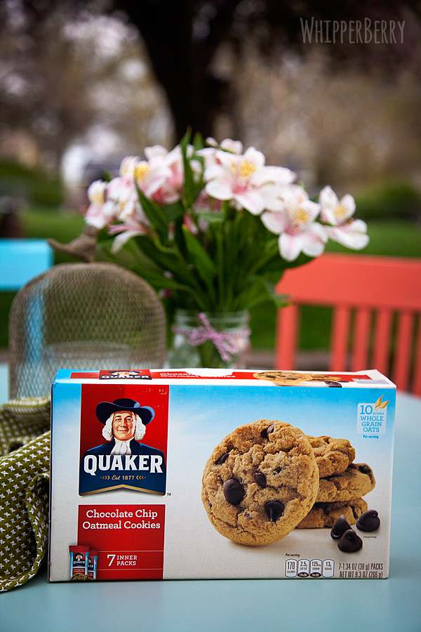 Me time with Quaker Chocolate Chip Oatmeal Cookies