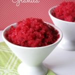 Raspberry Watermelon Granita