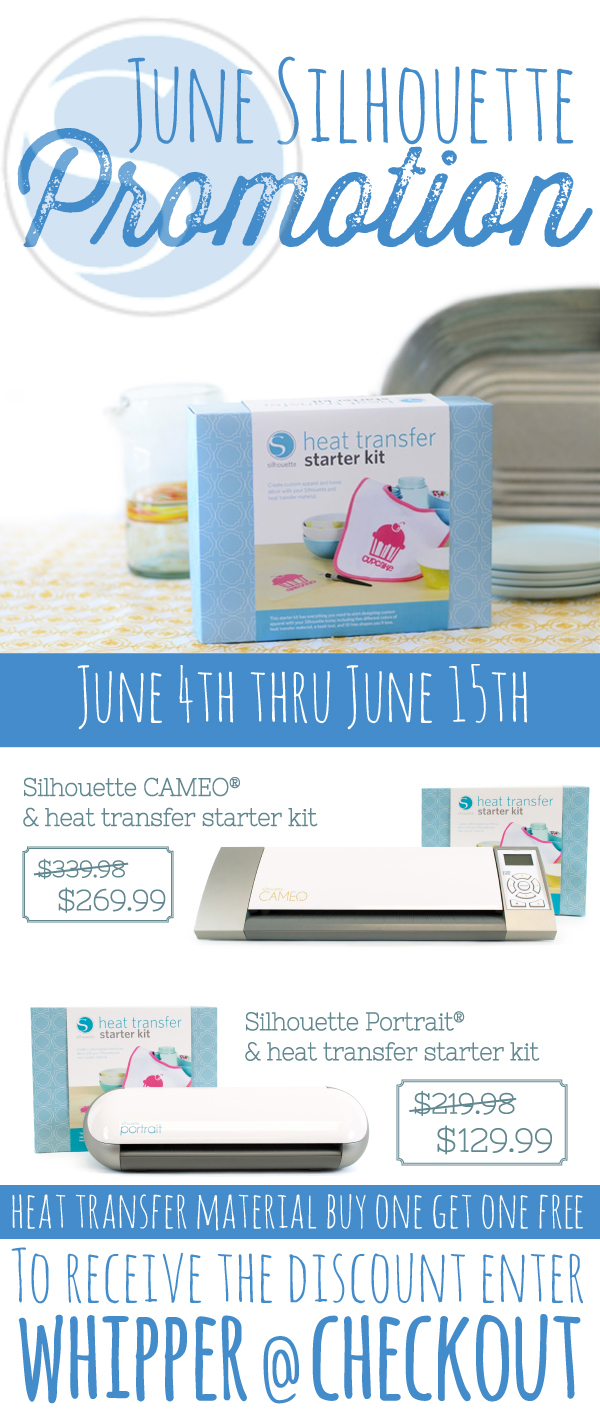 Silhouette Coupon Code for June