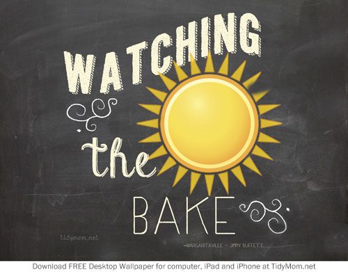 Watching-the-Sun-Bake-Summer-June-Chalkboard-Wallpaper-TidyMom