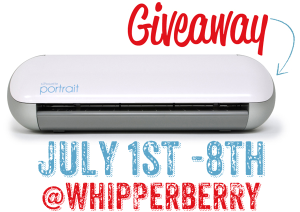 Whipperberry Silhouette Giveaway Instagram image