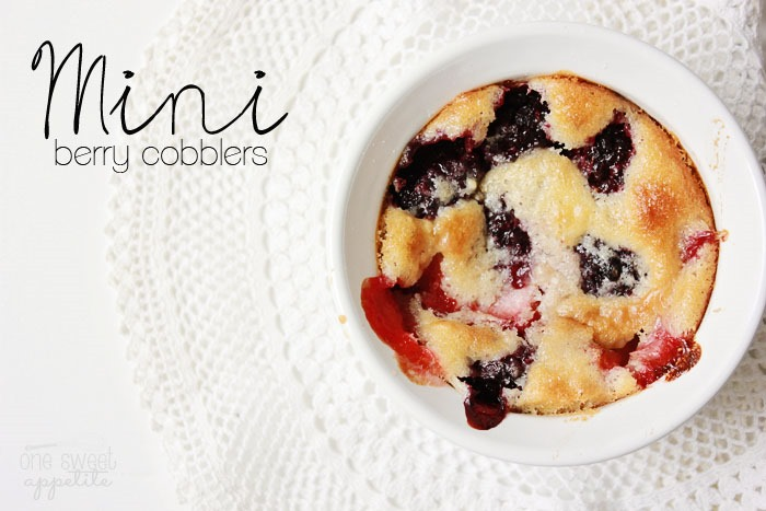The New WhipperBerry Creative Team AND Mini Berry Cobblers