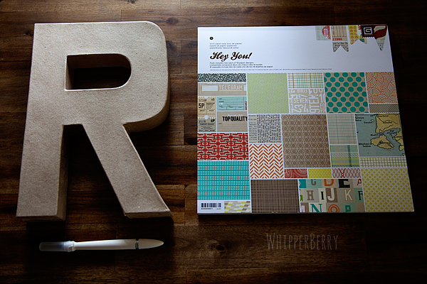 how to create your own designer letters