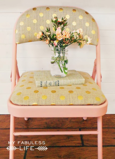 Drab to Fab Folding Chairs